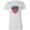 CrossFit No Slack - 100 - Standard - Bella + Canvas - Women's The Favorite Tee