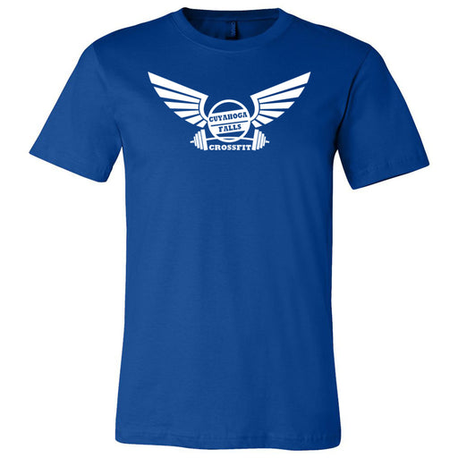 Cuyahoga Falls CrossFit - One Color - Bella + Canvas - Men's Short Sleeve Jersey Tee