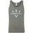 CrossFit Logan - 100 - Crest - Bella + Canvas - Men's Jersey Tank
