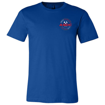 ASDC CrossFit - 200 - Forged - Bella + Canvas - Men's Short Sleeve Jersey Tee
