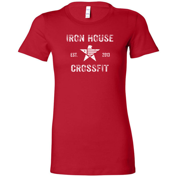 Iron House CrossFit - 100 - Stacked - Bella + Canvas - Women's The Favorite Tee