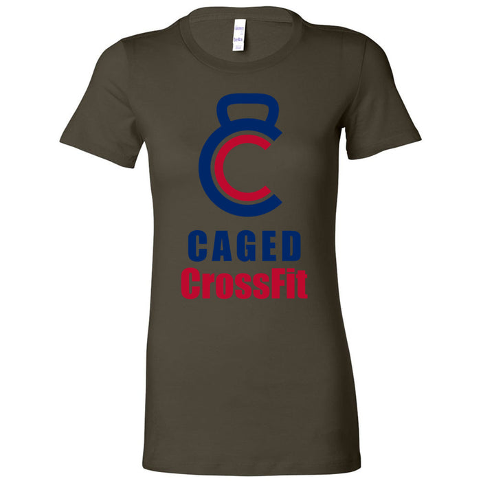 Caged CrossFit - 100 - Standard - Bella + Canvas - Women's The Favorite Tee