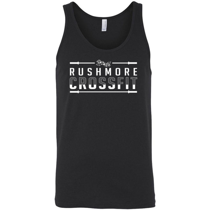 Rushmore CrossFit - 100 - One Color - Bella + Canvas - Men's Jersey Tank