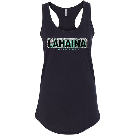 Lahaina CrossFit - 100 - Hawaii Teal - Next Level - Women's Ideal Racerback Tank