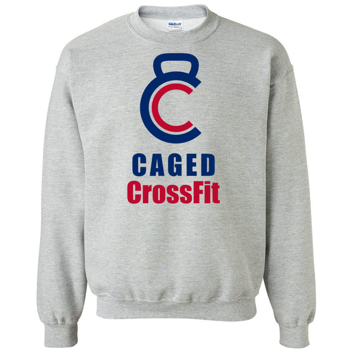 Caged CrossFit - 100 - Standard - Gildan - Heavy Blend Crewneck Sweatshirt