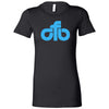 CrossFit Beaumont - 200 - CFB Blue - Bella + Canvas - Women's The Favorite Tee
