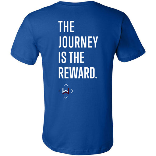 CrossFit West Des Moines - 200 - Journey - Bella + Canvas - Men's Short Sleeve Jersey Tee