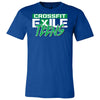 CrossFit Exile - 100 - Teens Green - Bella + Canvas - Men's Short Sleeve Jersey Tee
