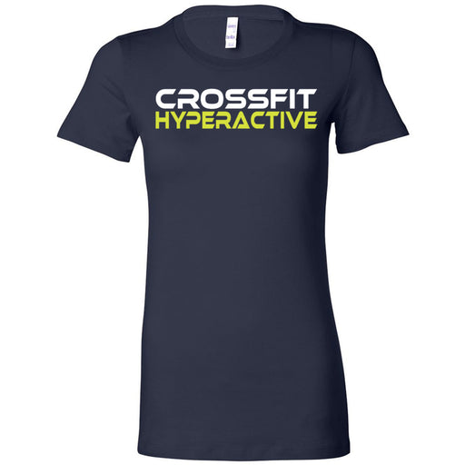 CrossFit Hyperactive - 100 - Standard - Bella + Canvas - Women's The Favorite Tee