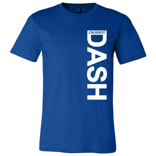 CrossFit Dash - 100 - Vertical - Bella + Canvas - Men's Short Sleeve Jersey Tee