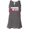 CrossFit Never Broken - 100 - Flag - Bella + Canvas - Women's Flowy Racerback Tank