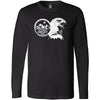 CrossFit Gibsons - 202 - Eagle - Bella + Canvas 3501 - Men's Long Sleeve Jersey Tee
