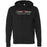 CrossFit Billings - 100 - Tag Line - Independent - Hooded Pullover Sweatshirt
