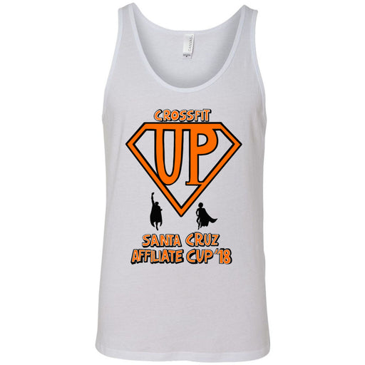 CrossFit Up - 100 - Affiliate Cup 2018 - Bella + Canvas - Men's Jersey Tank