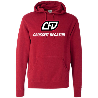 CrossFit Decatur - 100 - Standard - Independent - Hooded Pullover Sweatshirt