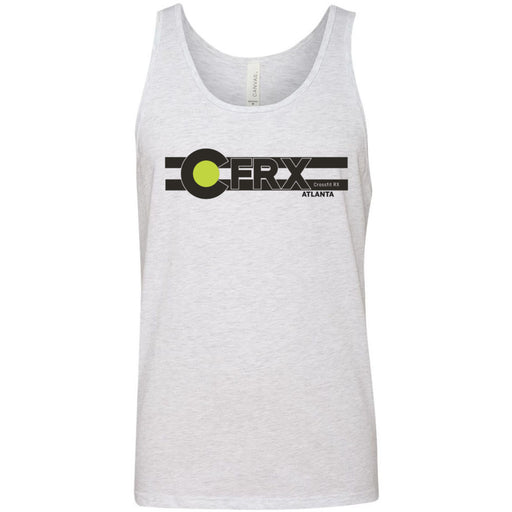 CrossFit Rx - 100 - Atlanta - Bella + Canvas - Men's Jersey Tank