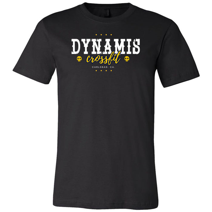 Dynamis CrossFit - 100 - Pistol Grip Pump - Bella + Canvas - Men's Short Sleeve Jersey Tee