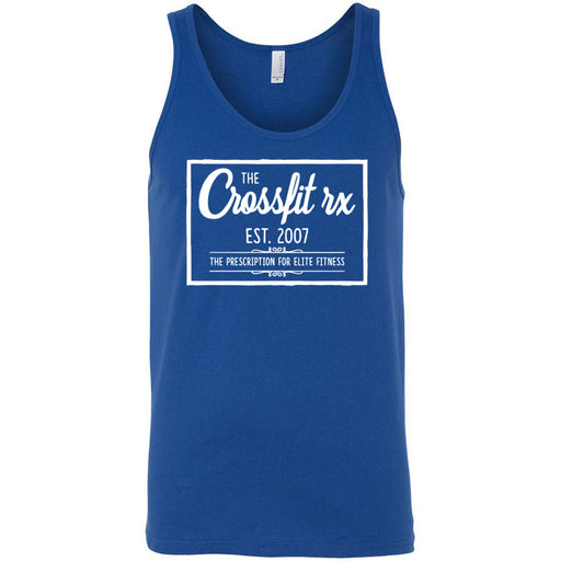 CrossFit Rx - 100 - Old Style - Bella + Canvas - Men's Jersey Tank