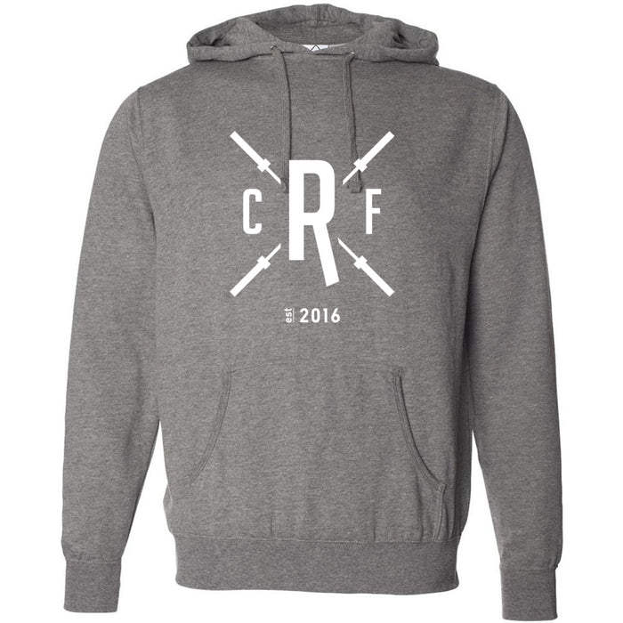 CrossFit Rolesville - 201 - Barbell - Independent - Hooded Pullover Sweatshirt