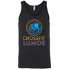 CrossFit Lumos - 100 - Neon - Bella + Canvas - Men's Jersey Tank
