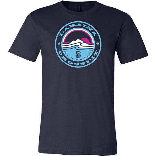 Lahaina CrossFit - 100 - Miami Sunrise Blue - Bella + Canvas - Men's Short Sleeve Jersey Tee