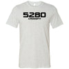 5280 CrossFit - 200 - 5280 - Bella + Canvas - Men's Short Sleeve Jersey Tee