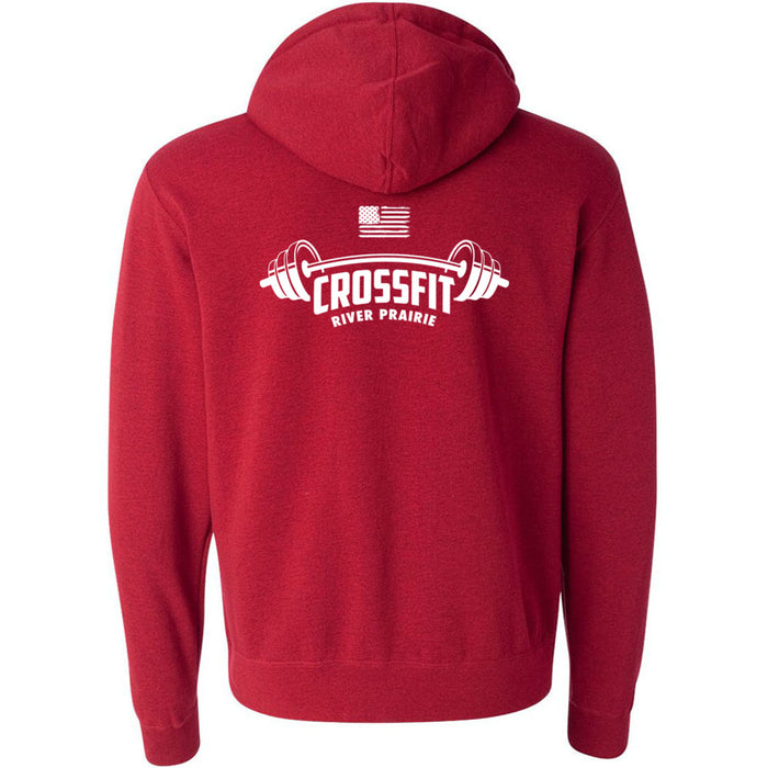 CrossFit River Prairie - 201 - Stacked - Independent - Hooded Pullover Sweatshirt