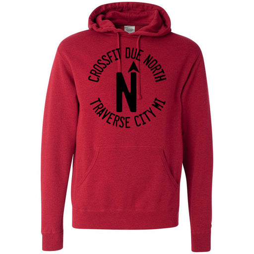 CrossFit Due North - 100 - North - Independent - Hooded Pullover Sweatshirt
