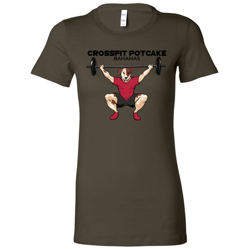 CrossFit Potcake - 100 - Bahamas - Bella + Canvas - Women's The Favorite Tee