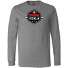 CrossFit Visalia - 100 - Barbell - Bella + Canvas 3501 - Men's Long Sleeve Jersey Tee