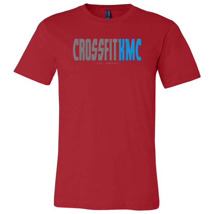 CrossFit KMC - 100 - One Side - Bella + Canvas - Men's Short Sleeve Jersey Tee