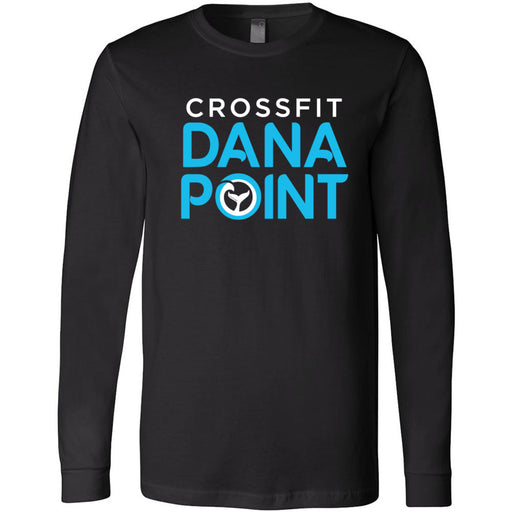 CrossFit Dana Point - 100 - Standard - Bella + Canvas 3501 - Men's Long Sleeve Jersey Tee