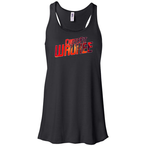 CrossFit Waukee - 100 - Summer - Bella + Canvas - Women's Flowy Racerback Tank