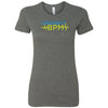 CrossFit BPM - 100 - Blue Volt - Bella + Canvas - Women's The Favorite Tee