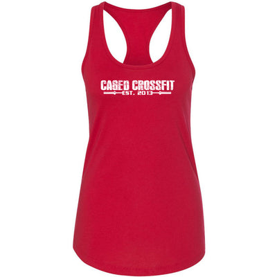 Caged CrossFit - 100 - Standard - Next Level - Women's Ideal Racerback Tank