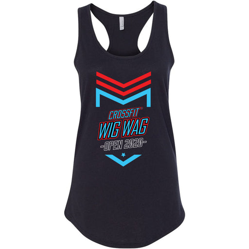 CrossFit Wig Wag - 100 - 2020 Open 20.2 - Next Level - Women's Ideal Racerback Tank