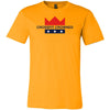 CrossFit Crowned - 100 - Standard - Bella + Canvas - Men's Short Sleeve Jersey Tee