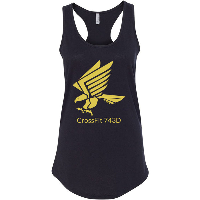 CrossFit 743D - 100 - Gold - Next Level - Women's Ideal Racerback Tank