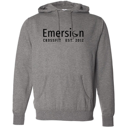 Emersion CrossFit - 100 - Black - Independent - Hooded Pullover Sweatshirt