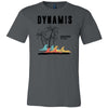 Dynamis CrossFit - 100 - Palm Tree Black - Bella + Canvas - Men's Short Sleeve Jersey Tee