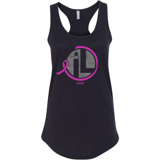 CrossFit Inner Loop - 100 - Fundraiser for SU2C, Stand Up 2 Cancer - Next Level - Women's Ideal Racerback Tank