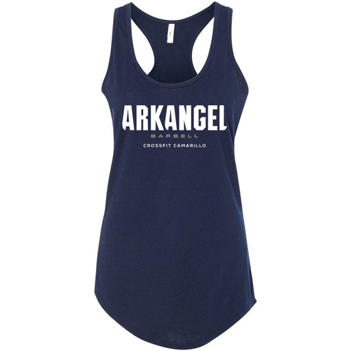 CrossFit Camarillo - 100 - Stacked - Next Level - Women's Ideal Racerback Tank