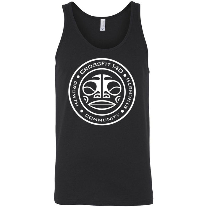 CrossFit 140 - Tiki - Bella + Canvas - Men's Jersey Tank