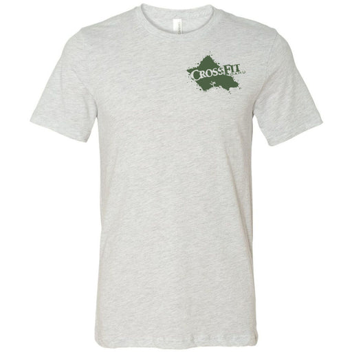 CrossFit Oahu - 200 - Hawaiian Pukie - Bella + Canvas - Men's Short Sleeve Jersey Tee