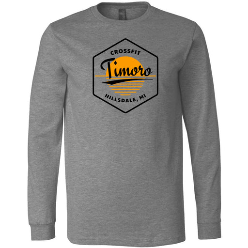 CrossFit Timoro - 100 - AA2 Paradise - Bella + Canvas 3501 - Men's Long Sleeve Jersey Tee