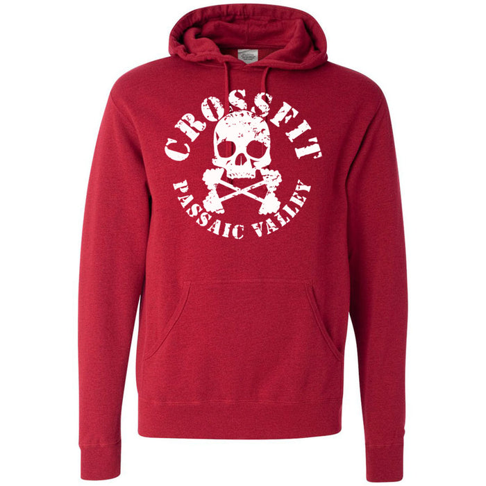 CrossFit Passaic Valley - 100 - Standard - Independent - Hooded Pullover Sweatshirt