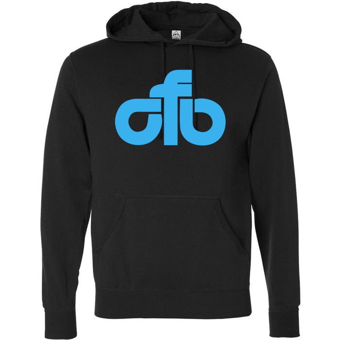 CrossFit Beaumont - 201 - CFB Blue - Independent - Hooded Pullover Sweatshirt