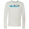 CrossFit Potcake - 100 - Standard - Bella + Canvas 3501 - Men's Long Sleeve Jersey Tee