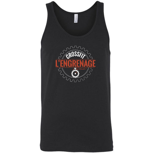 CrossFit L'Engrenage - 100 - Orange - Bella + Canvas - Men's Jersey Tank
