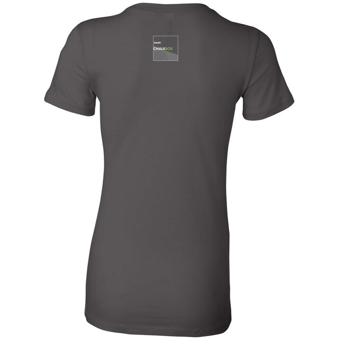 CrossFit Chalkbox - 200 - Built by Chalkbox - Bella + Canvas - Women's The Favorite Tee